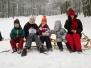Sánkari vs. lyžiari
